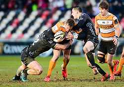 Tian Schoeman of Toyota Cheetahs Guinness PRO14, Rodney Parade, Newport, UK 29/02/2020<br /> Dragons vs Toyota Cheetahs<br /> <br /> Mandatory Credit ©INPHO/Dougie Allward
