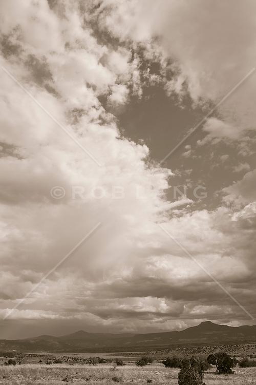 landscape of Abiquiu, New Mexico