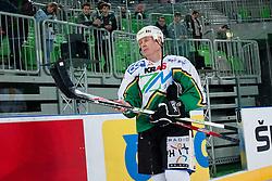 Bojan Zajc during ice-hockey friendly match between legends of HDD Tilia Olimpija and HK Acroni Jesenice, on April 14, 2012 at SRC Stozice, Ljubljana, Slovenia. (Photo By Matic Klansek Velej / Sportida.com)
