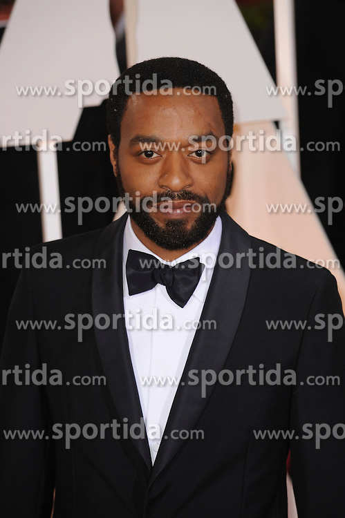 22.02.2015, Dolby Theatre, Hollywood, USA, Oscar 2015, 87. Verleihung der Academy of Motion Picture Arts and Sciences, im Bild Chiwetel Ejiofor // attends 87th Annual Academy Awards at the Dolby Theatre in Hollywood, United States on 2015/02/22. EXPA Pictures &copy; 2015, PhotoCredit: EXPA/ Newspix/ PGMP<br /> <br /> *****ATTENTION - for AUT, SLO, CRO, SRB, BIH, MAZ, TUR, SUI, SWE only*****