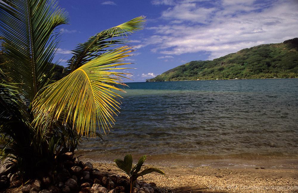 French Polynesia, Tahiti, Taha'a.