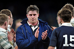 Ian Williams of Oxford University after the match- Photo mandatory by-line: Patrick Khachfe/JMP - Mobile: 07966 386802 11/12/2014 - SPORT - RUGBY UNION - London - Twickenham Stadium - Oxford University v Cambridge University - The Varsity Match