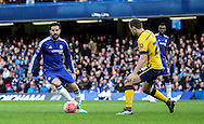 Cesc Fàbregas of Chelsea in action during the The FA Cup match between Chelsea and Scunthorpe United at Stamford Bridge, London, England on 10 January 2016. Photo by Ken Sparks.