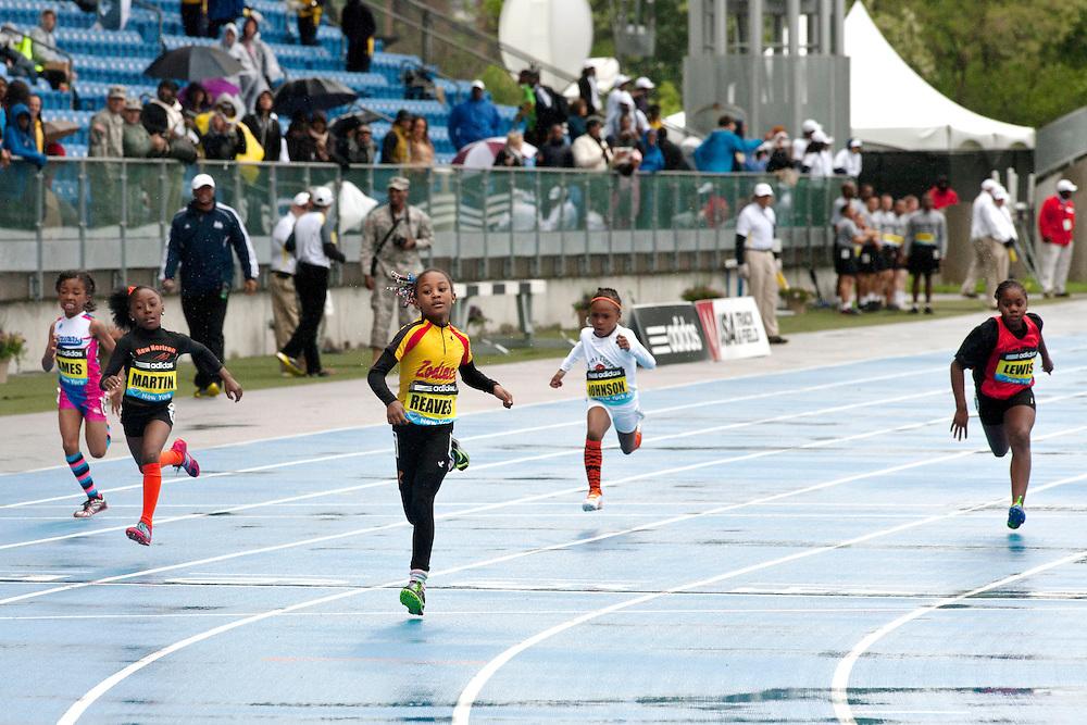 adidas Grand Prix Diamond League professional track & field meet: Girls' Fastest Kid 100m