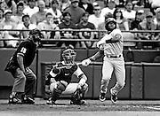 USC's Jackie Bradley Jr. follows through on his fourth inning home run during Sunday's game between South Carolina and Oklahoma at the 2010 College World Series inside Rosenblatt Stadium. Omaha, NE 6/20/10