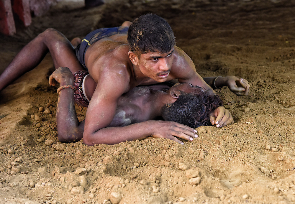 Kushti wrestlers of Varanasi, India