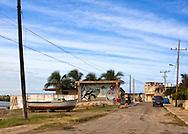 Street in Mariel, Artemisa, Cuba.