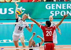 07.09.2014, Spodek, Katowice, POL, FIVB WM, Tunesien vs Finnland, Gruppe B, im Bild JUKKA LEHTONEN FIN // during the FIVB Volleyball Men's World Championships Pool B Match beween Tunisia and Finland at the Spodek in Katowice, Poland on 2014/09/07. <br /> <br /> ***NETHERLANDS ONLY***