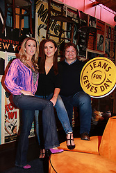 18th September 2017<br /> <br /> (L-R) Chanelle McCoy, Holly Carpenter and Shane Byrne were all on hand to help Fighting Blindness Ireland launch their annual fundraising campaign, Jeans for Genes Day September 22nd.<br /> Jeans for Genes is a campaign were by Fighting Blindness ask the people of Ireland to wear jeans for a day, in all walks of life, and try raise funds to help cure genetic sight loss.<br /> The launch took place in 37 Dawson Street in Dublin. 37 and its seventeen sister venues will all be taking part in the campaign. The staff in all 18 venues will be wearing Blue Jeans for the day and selling Blue Cocktails with all proceeds going to the charity.<br />  <br /> PIC: Lensmen