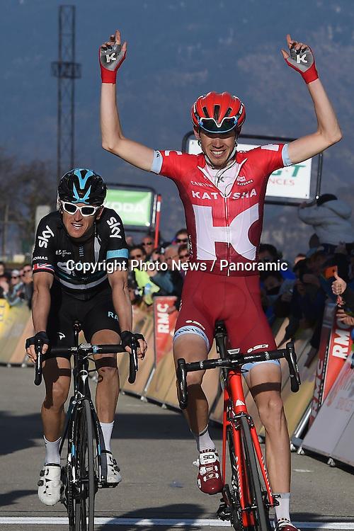 CONTADOR Alberto of Tinkoff - THOMAS Geraint of Team Sky - ZAKARIN Ilnur of Team Katusha