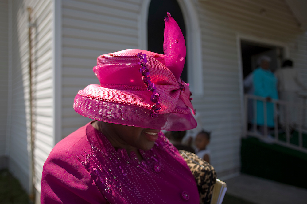 Homecoming Sunday, St. Joseph's Missionary Baptist Church, Jonestwon, Miss., 2007.<br /> Photo by D.L. Anderson
