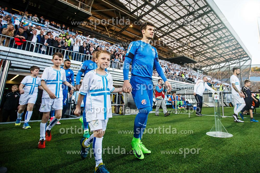 Football match between HNK Rijeka and GNK Dinamo Zagreb in Round #27 of 1st HNL League 2016/17, on November 5, 2016 in Rujevica stadium, Rijeka, Croatia. Photo by Grega Valancic / Sportida