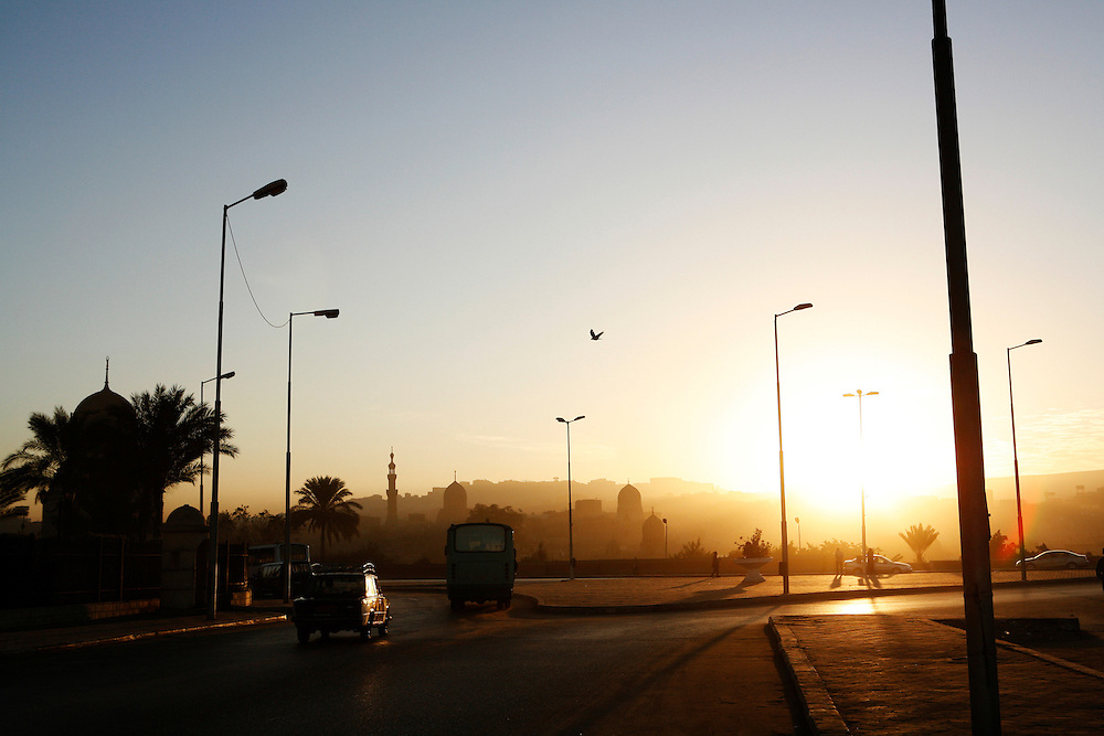 Cairo sunrise.