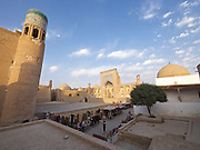 Uzbekistan, Khiva. Allakouli Khan Medressa.