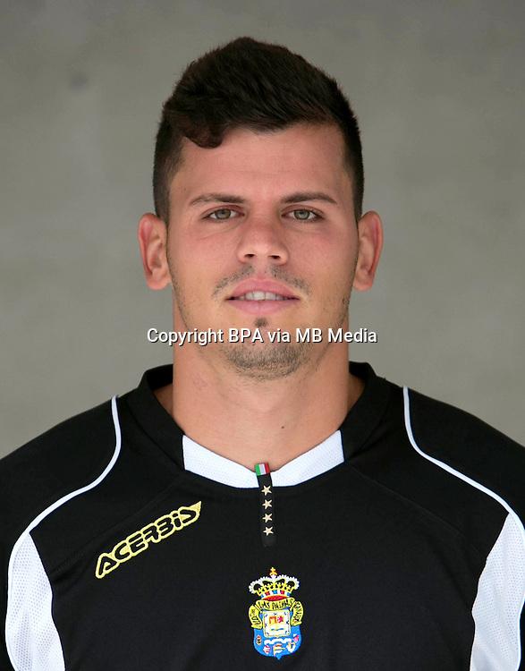 Spain - La Liga Adelante 2014-2015 / <br /> ( UD Las Palmas ) - <br /> Alex Mart&iacute;n