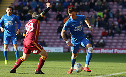 Ben White of Peterborough United in action against Bradford City - Mandatory by-line: Joe Dent/JMP - 09/03/2019 - FOOTBALL - Northern Commercials Stadium - Bradford, England - Bradford City v Peterborough United - Sky Bet League One