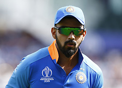 May 25, 2019 - London, England, United Kingdom - KL Rahul of India.during ICC World Cup - Warm - Up between India and New Zealand at the Oval Stadium , London,  on 25 May 2019. (Credit Image: © Action Foto Sport/NurPhoto via ZUMA Press)