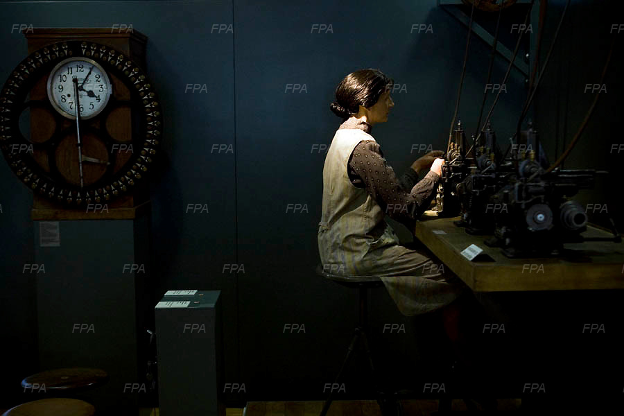 A model depicting the older times of the watch making industry at the Neuhaus museum in Bienne, Switzerland. Image © Angelos Giotopoulos/Falcon Photo Agency