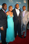 26 June 2010-Miami Beach, Fla- l to r: Chancy Hamlett, Chrisette, Mark Pitt, and Jeff Friday at The 2010 ABFF Honors Awards Ceremony held at The New World Symphony Lincoln Theater on June 26, 2010 in Miami Beach, Florida. Terrence Jennings/Sipa