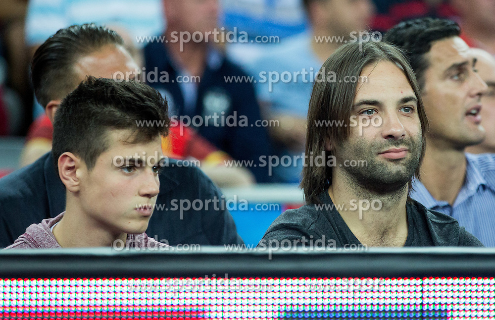 Ivano Balic during basketball match between Greece and Croatia at Day 2 in Group C of FIBA Europe Eurobasket 2015, on September 6, 2015, in Arena Zagreb, Croatia. Photo by Vid Ponikvar / Sportida