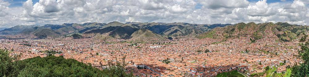 Panorama Cusco (Format 4 x 1)