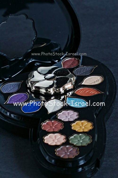 palette of deferent colour make up