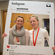 13.09.17.            <br /> Global healthcare company, Johnson &amp; Johnson (J&amp;J) and University of Limerick (UL) have begun Year 2 their collaborative STEM education programme known as WiSTEM2D. The programme is designed to encourage female students to study science, technology, engineering and mathematics. Pictured at a university event to highlight student research findings from Year 1 of the programme were, Ciara Hehir, J&amp;J and Mary Lane, J&amp;J. Picture: Alan Place