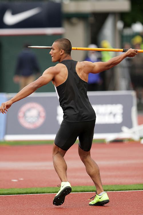 Olympic Trials Eugene 2012: Decathlon, javelin, Ashton Eaton
