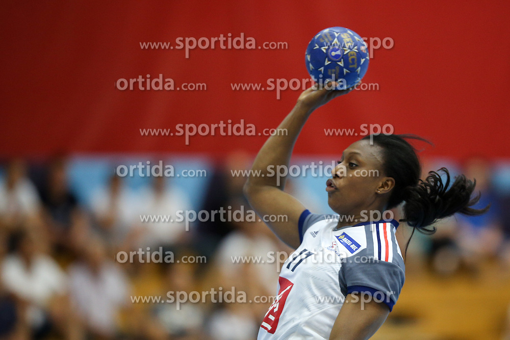 Siraba Dembele of France during handball match between National Teams of Slovenia and France in Qualification of 2015 Women's European Championship, on June 13th, in Rdeca Dvorana, Velenje. Photo by Morgan Kristan / Sportida