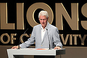 21.JUNE.2012 LOS ANGELES<br /> <br /> PRESIDENT BILL CLINTON ATTENDS THE 59TH CREATIVITY FESTIVAL AT THE CANNES LIONS AS A GUEST SPEAKER. TO CELEBRATE ITS 10TH ANNIVERSARY ABC GROUP FROM LATIN AMERICA INVITED CLINTON TO TALK ABOUT HOW ADVERTISING CAN HELP BUILD A BETTER WORLD.<br /> <br /> BYLINE: EDBIMAGEARCHIVE.COM<br /> <br /> *THIS IMAGE IS STRICTLY FOR UK NEWSPAPERS AND MAGAZINES ONLY*<br /> *FOR WORLD WIDE SALES AND WEB USE PLEASE CONTACT EDBIMAGEARCHIVE - 0208 954 5968*