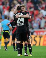 Fussball Bundesliga 2011/12: Bayer 04 Leverkusen - SV Werder Bremen