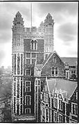 City College, building being restored, New York© Copyright Photograph by Dafydd Jones 66 Stockwell Park Rd. London SW9 0DA Tel 020 7733 0108 www.dafjones.com