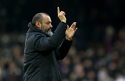 Wolverhampton Wanderers manager Nuno Espirito Santo after the Premier League match at Craven Cottage, London.