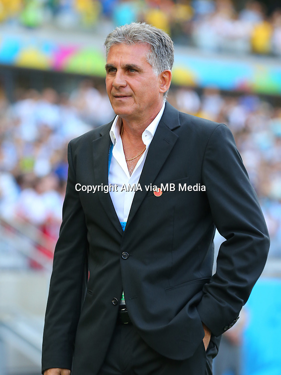 Carlos Queiroz manager / head coach of Iran