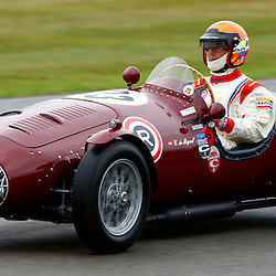 GOODWOOD REVIVAL....Carlos de Miguel during qualifying for the weekend races...(c) STEPHEN LAWSON | SportPix.org.uk