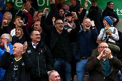 Wael Al-Qadi president of Bristol Rovers FC celebrates with the fans during the win over Northampton Town - Mandatory by-line: Robbie Stephenson/JMP - 07/10/2017 - FOOTBALL - Sixfields Stadium - Northampton, England - Northampton Town v Bristol Rovers - Sky Bet League One