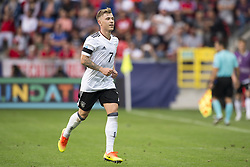 June 18, 2017 - Tychy, Poland - Max Meyer of Germany celebrates after his goal for Germany during the UEFA European Under-21 Championship 2017 Group C match between Germany and Czech Republic at Tychy Stadium in Tychy, Poland on June 18, 2017  (Credit Image: © Andrew Surma/NurPhoto via ZUMA Press)
