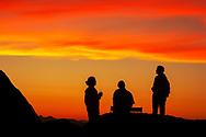 Africa, Namibia, Damaraland, Namib,  Movani, travelers at Happy Hour in luxury lodge