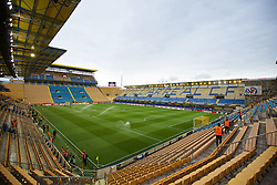 VILLRREAL, SPAIN - Thursday, April 28, 2016: A general view of Villarreal CF's Estadio El Madrigal ahead of the UEFA Europa League Semi-Final 1st Leg match against Liverpool. (Pic by David Rawcliffe/Propaganda)