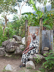 Rosa Margarita Clhotter, 44, was diagnosed with HIV in 2010. She is public with her HIV and sells handmade jewelry to tourists to earn a living.
