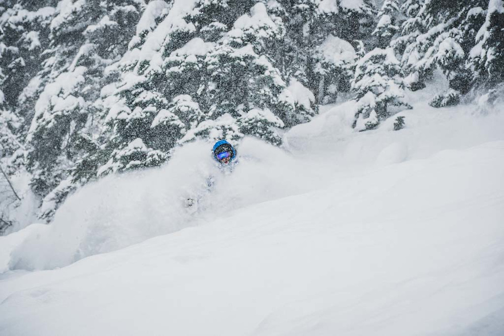 Over 45cm's fell during a 12 hour period at Burnie Glacier, British Columbia, and Joe Morabito was there.