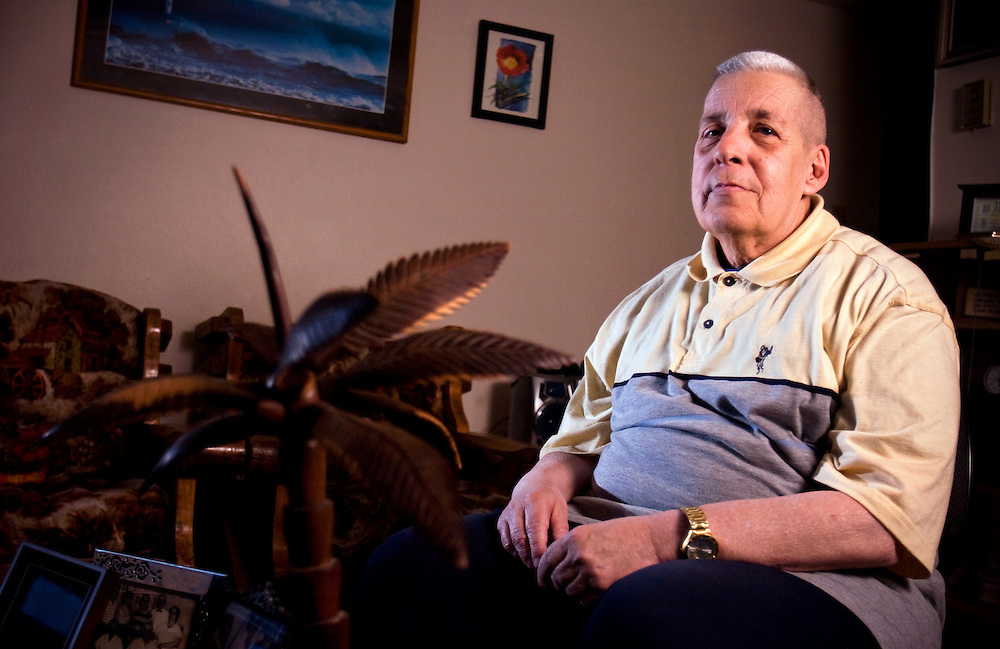 Xavier Mascareñas; Gerardo E. Dulzaides, who emigrated from Cuba, is photographed in his Albuquerque home on March 4, 2009.