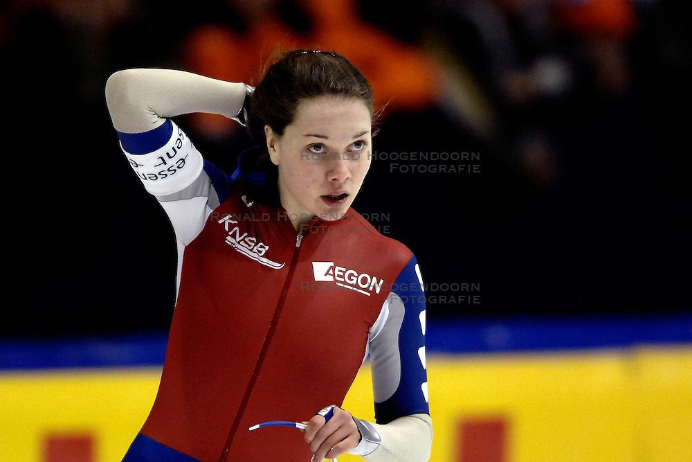 28-01-2007 SCHAATSEN: ESSENT WORLDCUP SPRINT: HEERENVEEN<br />Laurine van Riessen<br />&copy;2007-WWW.FOTOHOOGENDOORN.NL