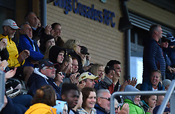 Spectators at Shaftesbury Park - Mandatory by-line: Paul Knight/JMP - 28/09/2019 - RUGBY - Shaftesbury Park - Bristol, England - Bristol Bears Women v Loughborough Lightning  - Tyrrells Premier 15s