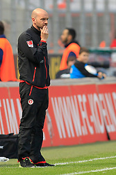 04.05.2014, Rhein-Energie Stadion, Koeln, GER, 2. FBL, 1. FC Koeln vs FC St. Pauli, 33. Runde, im Bild Trainer Roland Vrabec (FC Sankt Pauli) // during the German 2nd Bundesliga 33th round match between 1. FC Cologne and FC St Pauli at the Rhein-Energie Stadion in Koeln, Germany on 2014/05/04. EXPA Pictures © 2014, PhotoCredit: EXPA/ Eibner-Pressefoto/ Schueler - Pressefoto<br /> <br /> *****ATTENTION - OUT of GER*****