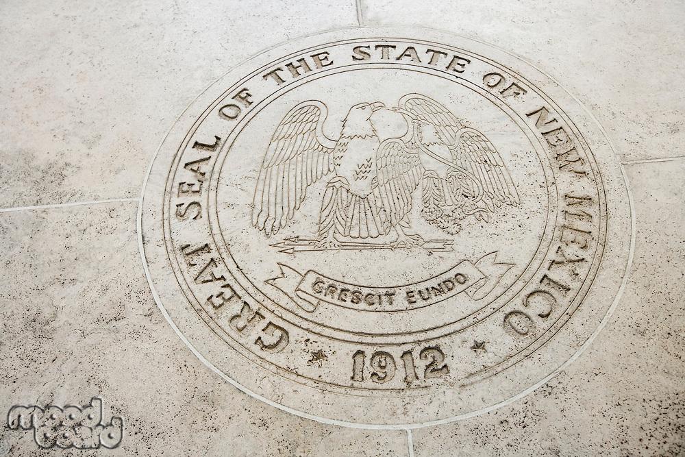 Seal of New Mexico in Fort Bonifacio; Manila; Philippines