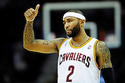Feb. 11, 2011; Cleveland, OH, USA; Cleveland Cavaliers point guard Mo Williams (2) gives a thumbs up during the fourth quarter against the Los Angeles Clippers at Quicken Loans Arena. The Cavaliers broke their loosing streak beating the Clipper 126-119 in overtime. Mandatory Credit: Jason Miller-US PRESSWIRE