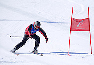 Polish athlete Adrian Formas while Alpine Intermediate Super Gigant during 2013 Special Olympics World Winter Games PyeongChang at Yongpyong Resort on February 2, 2013...South Korea, PyeongChang, February 2, 2013..Picture also available in RAW (NEF) or TIFF format on special request...For editorial use only. Any commercial or promotional use requires permission...Photo by © Adam Nurkiewicz / Mediasport