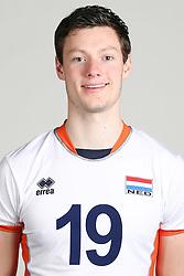 20160516 NED: Selectie Nederlands volleybal team mannen, Arnhem<br />Just Dronkers