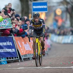 14-01-2018: Wielrennen: NK Veldrijden: Surhuisterveen<br /> Zilver Lars van der Haar